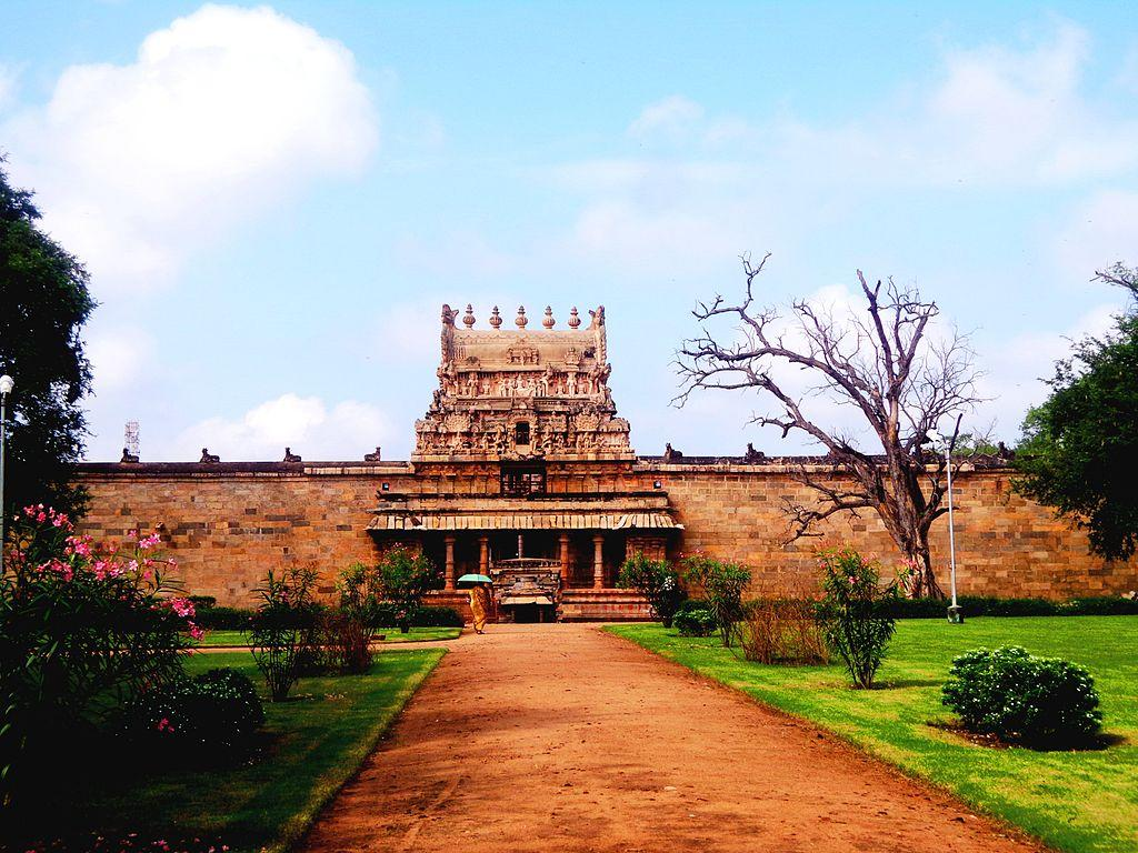 <p></p><p><span>The beautiful Chola temples represented the vast empire that Cholas established in Thanjavur. These magnificent temples built during the reign of Rajaraja were the epitome of the vast religious inclination of these rulers. This temple in the ancient time was note a mere religious center but a full functional business establishment which was served and maintained by a permanent staff of several hundred priests, 400 devadasi and 57 musicians.</span> </p><p></p>