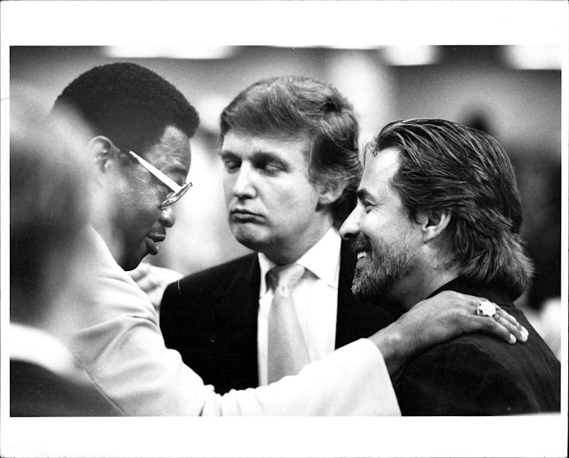 Donald Trump in July 1989.