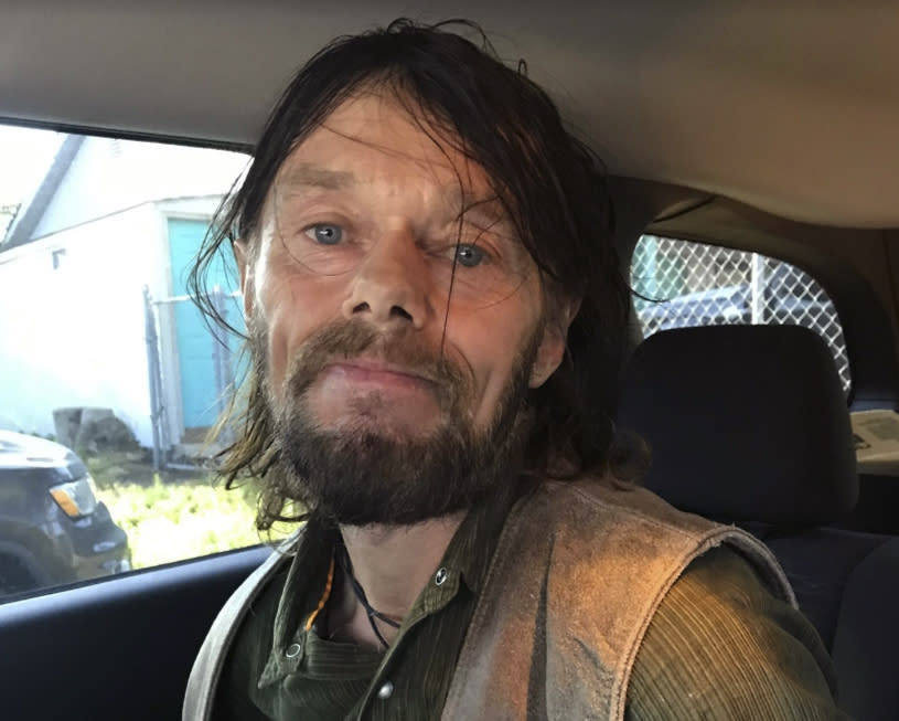 FILE - This Friday, July 26, 2019, file photo provided by the Monterey County Sheriff's Office shows Kim Vincent Avis, also known as Ken Gordon-Avis. Avis, of Scotland, who tried to evade justice by fleeing to the United States, where he faked his death at a California beach, was sentenced on Friday, June 11, 2021, to 15 years in prison for rape and other sexual offenses, authorities in Scotland said. (Monterey County Sheriff's Office via AP, File)