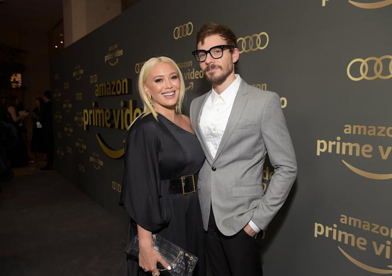 BEVERLY HILLS, CA - JANUARY 06: Hilary Duff (L) and Matthew Koma attend the Amazon Prime Video's Golden Globe Awards After Party at The Beverly Hilton Hotel on January 6, 2019 in Beverly Hills, California. (Photo by Emma McIntyre/Getty Images)