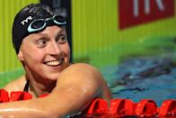 """<p><strong>Sport</strong>: Swimming<br> <strong>Country</strong>: USA</p> <p>Ledecky is known for smashing records by jaw-dropping intervals and leaving her competitors far in her wake, and we're expecting more of the same at next year's Olympics. An <a href=""""https://www.popsugar.com/fitness/Katie-Ledecky-Wins-800m-at-2019-World-Championships-46488638"""" class=""""link rapid-noclick-resp"""" rel=""""nofollow noopener"""" target=""""_blank"""" data-ylk=""""slk:illness at the 2019 World Championships"""">illness at the 2019 World Championships</a> left Ledecky with fewer medals than usual, but she pushed through and still came out of the competition with one world title and two silvers. In competitions since, she's <a href=""""https://www.popsugar.com/fitness/katie-ledecky-simone-manuel-compete-in-200-freestyle-46884977"""" class=""""link rapid-noclick-resp"""" rel=""""nofollow noopener"""" target=""""_blank"""" data-ylk=""""slk:looked as dominant as ever"""">looked as dominant as ever</a>, and the fact that she has a whole extra year to train and <a href=""""https://www.popsugar.com/fitness/katie-ledecky-training-for-postponed-2020-olympics-47641997"""" class=""""link rapid-noclick-resp"""" rel=""""nofollow noopener"""" target=""""_blank"""" data-ylk=""""slk:is making good use of it"""">is making good use of it</a> should strike some fear into the hearts of her competitors.</p>"""