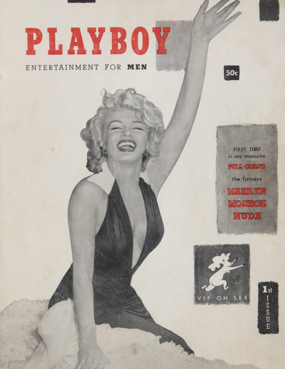 Marilyn Monroe stars in the first issue of <em>Playboy</em> magazine. (Photo: Julien's Auctions)