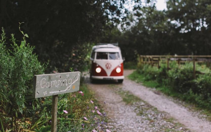 Pleasant Streams Farm is perfectly sited a few miles from Mevagissey Bay - Cool Camping