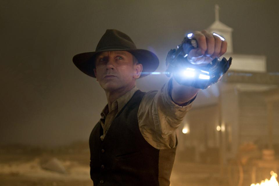 Daniel Craig stars in Jon Favreau's 'Cowboys & Aliens,' which celebrates its 10th anniversary this year. (Photo: Zade Rosenthal/©Universal Pictures/Courtesy Everett Collection)