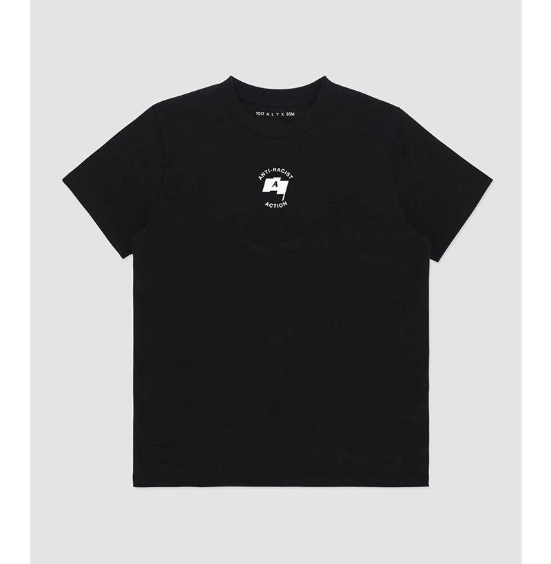"""<p><strong>1017 Alyx 9SM</strong></p><p>alyxstudio.com</p><p><strong>70.00</strong></p><p><a href=""""https://www.alyxstudio.com/collections/anti-racist-action-t-shirt/products/anti-racist-action-t-shirt?variant=31922061607001"""" rel=""""nofollow noopener"""" target=""""_blank"""" data-ylk=""""slk:Buy"""" class=""""link rapid-noclick-resp"""">Buy</a></p><p><strong>Donating to</strong>: <a href=""""https://secure.actblue.com/donate/freeblackmamas2020"""" rel=""""nofollow noopener"""" target=""""_blank"""" data-ylk=""""slk:National Bail Out"""" class=""""link rapid-noclick-resp"""">National Bail Out</a>, <a href=""""https://www.joincampaignzero.org/"""" rel=""""nofollow noopener"""" target=""""_blank"""" data-ylk=""""slk:Campaign Zero"""" class=""""link rapid-noclick-resp"""">Campaign Zero</a>, and <a href=""""https://freedomfund.org/"""" rel=""""nofollow noopener"""" target=""""_blank"""" data-ylk=""""slk:The Freedom Fund"""" class=""""link rapid-noclick-resp"""">The Freedom Fund</a><br></p>"""
