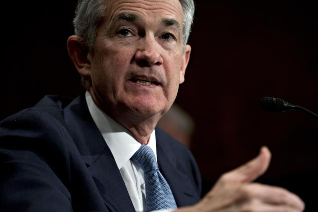 Jerome Powell, chairman of the U.S. Federal Reserve. Photographer: Andrew Harrer/Bloomberg