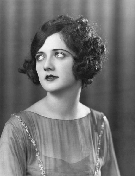 <p>In the 1920s, the bob was king. By the middle of the decade, it was a curly, messy bob specifically that everyone wanted, as seen here on Dorothy Nourse. </p>
