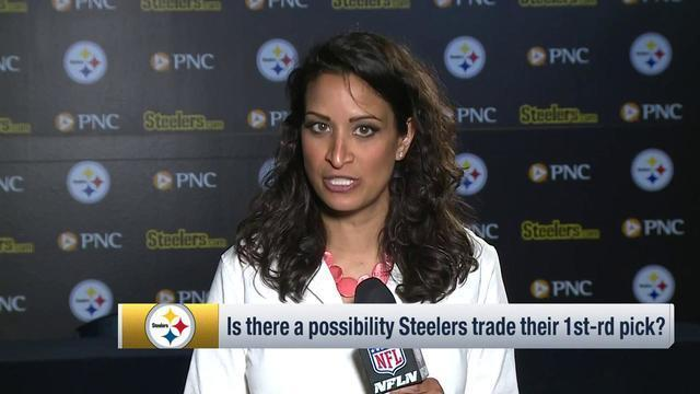 NFL Network's Aditi Kinkhabwala explores how the Pittsburgh Steelers could approach the first round of the 2019 NFL Draft.