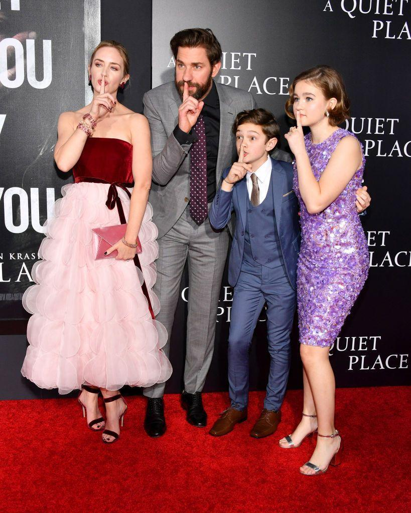 <p>John Krasinski's 2018 directorial debut, <em>A Quiet Place,</em> was met with rave reviews. The former <em>Office</em> actor costarred in the thriller with his wife, Emily Blunt. The actor returned to direct and star in <em>A Quiet Place II.</em></p>