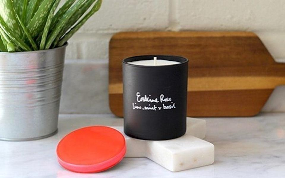 Grace Erskine's candle