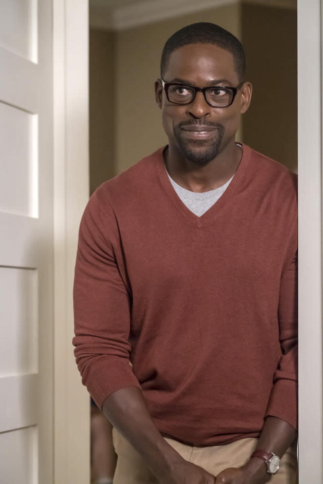 <p>Sterling K. Brown as Randall in NBC's <i>This Is Us</i>.<br>(Photo: Ron Batzdorff/NBC) </p>