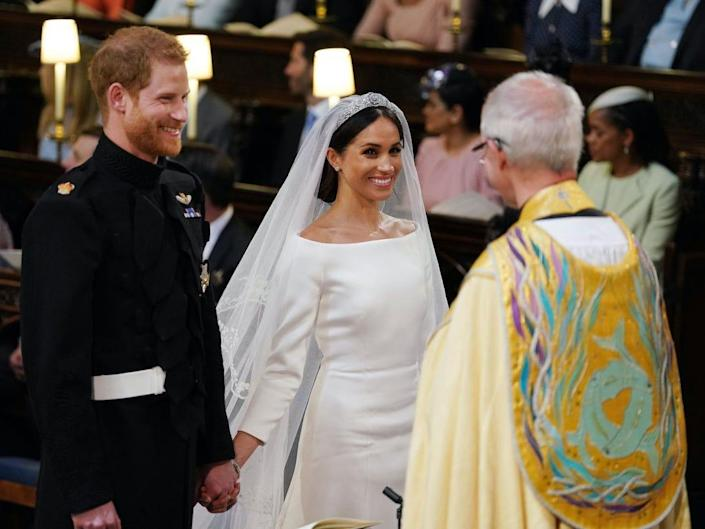 Prince Harry and Meghan Markle secretly got married three days before their televised royal wedding in 2018.