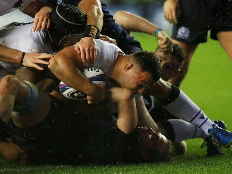 Ellis Genge delivered the best England performance of his career to help beat Scotland in the Calcutta Cup: Reuters