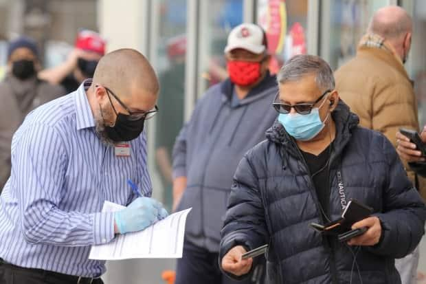 Select pharmacies in Kingston, Toronto and Windsor started booking appointments on Wednesday, according to provincial officials. (Michael Charles Cole/CBC Toronto - image credit)