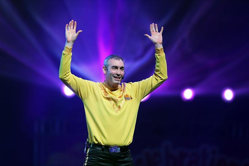 yellow wiggle greg page