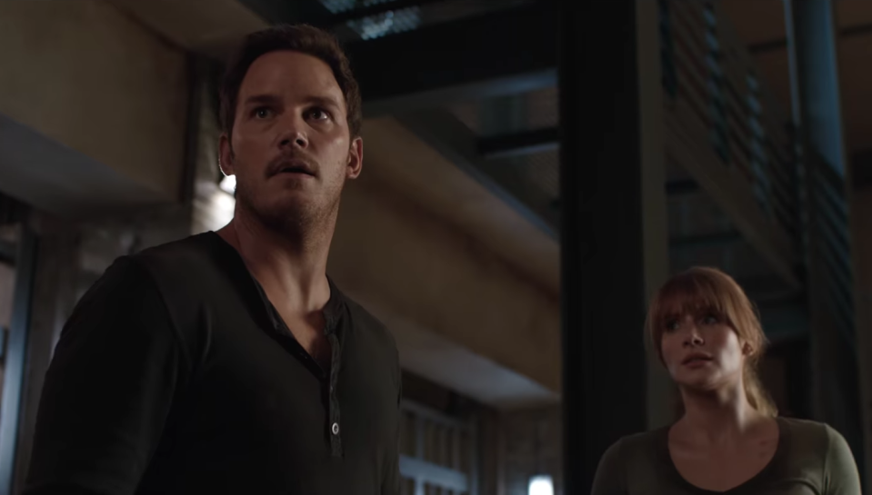 Chris Pratt and Bryce Dallas Howard reteam for the sequel to the 2015 smash hit (Universal Pictures)