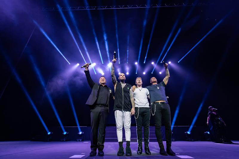 Boyzone. (PHOTO: Sng Meng Lee)