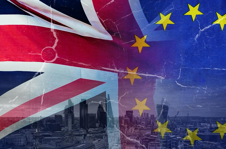 Britain will start talks to alter parts of the Withdrawal Agreement on Monday. Photo: Getty