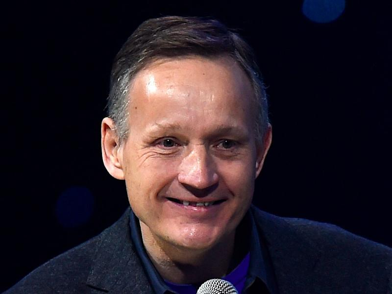 Barclays Chief Executive Antony Jenkins during We Day UK at The SSE Arena, Wembley PRESS ASSOCIATION Photo. Picture date: Thursday March 5, 2015. See PA story CHARITY . Photo credit should read: