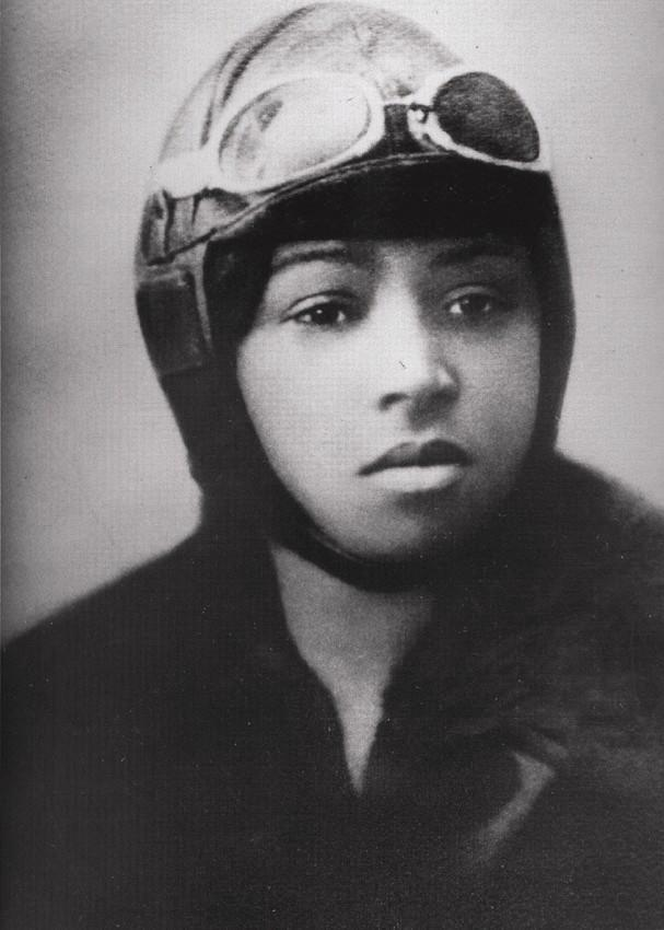 <p>Bessie Coleman's journey to being the first black woman to earn a pilot's license was an arduous one. After being refused entry to flying schools in the US, she taught herself French and moved to France, obtaining her license in just seven months. Stunt flying was her passion and she became well known for her aerial performances. In 1922, she also became the first African-American woman to stage a public flight. In April 1926, Bessie was tragically killed during a rehearsal for one of her much-loved shows. She was 34 years old. <i>[Photo: Wikimedia Creative Commons]</i> </p>