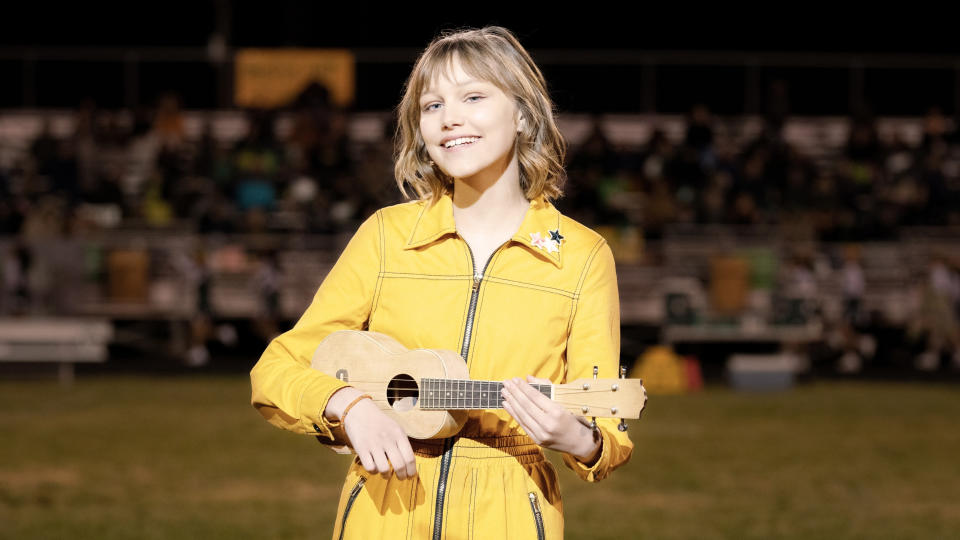 Grace VanderWaal plays the title role in Disney+ movie 'Stargirl'. (Credit: Disney+/Dale Robinette)