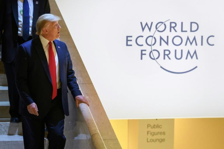 US President Donald Trump attended the 50th edition of the World Economic Forum in Davos this week