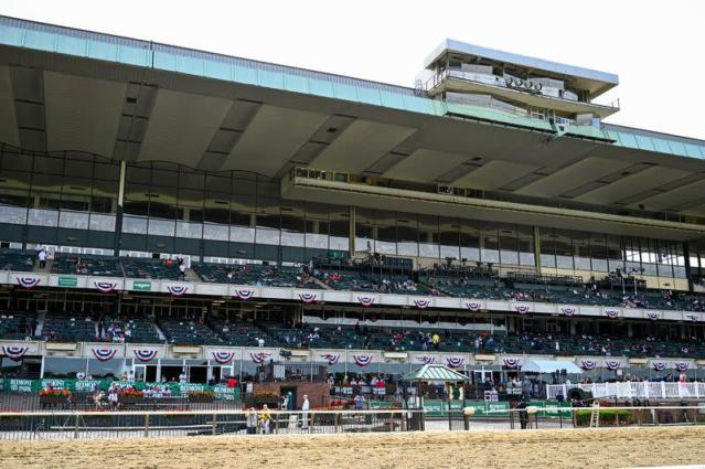 FILE PHOTO: Horse Racing: Belmont Stakes-Workouts