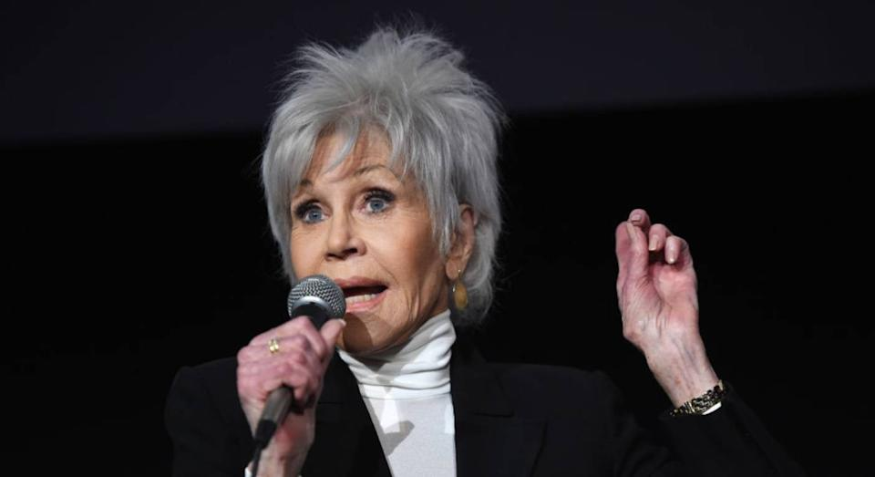Jane Fonda and Sharon Osbourne both rely on this silver shampoo (Getty Images)