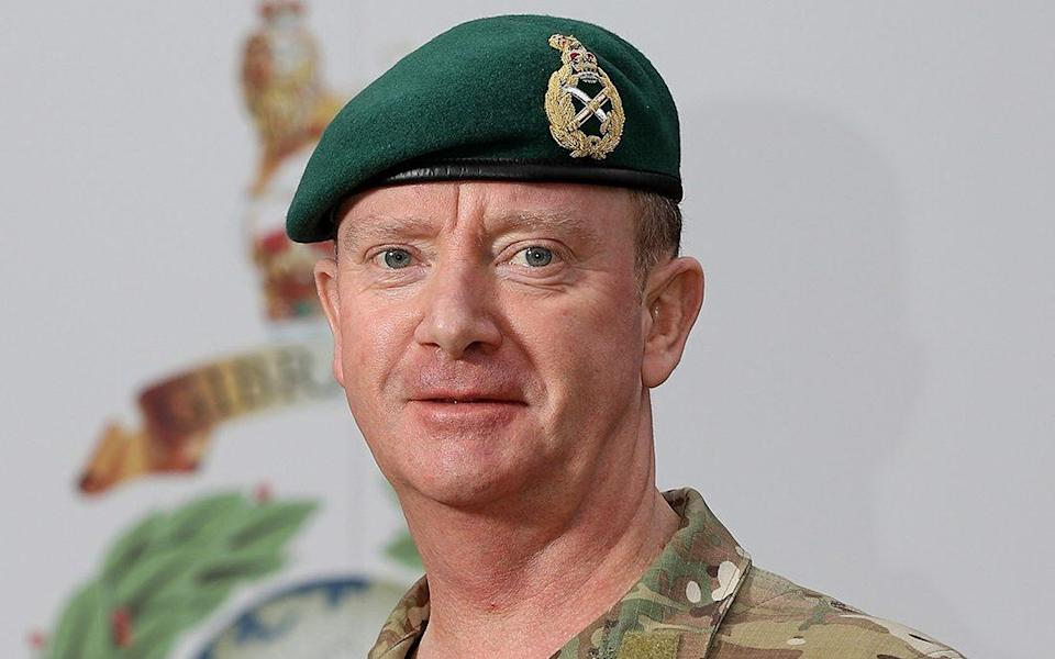 The funeral of Major General Matt Holmes is due to take place on Wednesday
