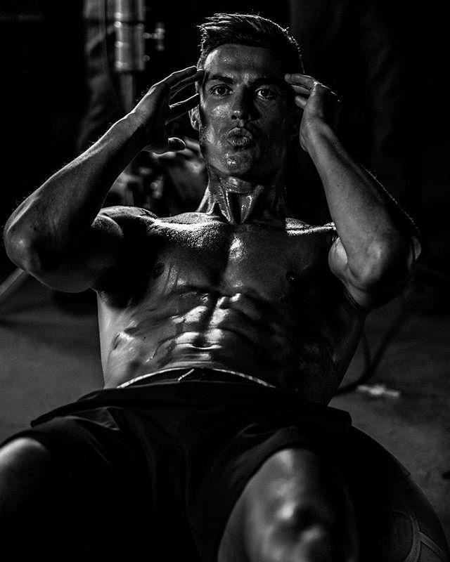 """<p>In this workout shot from November 2019, Ronaldo shows off the abs countless crunches can get you—if you are a superhuman pro athlete with killer genes and a bonkers work ethic.</p><p><a href=""""https://www.instagram.com/p/B4nW58yAVMn/"""" rel=""""nofollow noopener"""" target=""""_blank"""" data-ylk=""""slk:See the original post on Instagram"""" class=""""link rapid-noclick-resp"""">See the original post on Instagram</a></p>"""