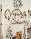 "<p>If you set out a nativity scene each year, your mantel provides the perfect spot. To complete the look, fill out any extra space with flocked garland, candles, and a few small trees. </p><p><em>See more at <a href=""https://www.instagram.com/p/B57rIOfHgwf/"" rel=""nofollow noopener"" target=""_blank"" data-ylk=""slk:junk_gems"" class=""link rapid-noclick-resp"">junk_gems</a>. </em></p><p><a class=""link rapid-noclick-resp"" href=""https://www.amazon.com/Porcelain-Origami-Nativity/dp/B00EEIY1U4?tag=syn-yahoo-20&ascsubtag=%5Bartid%7C10072.g.34484299%5Bsrc%7Cyahoo-us"" rel=""nofollow noopener"" target=""_blank"" data-ylk=""slk:SHOP NATIVITY SET"">SHOP NATIVITY SET</a></p>"