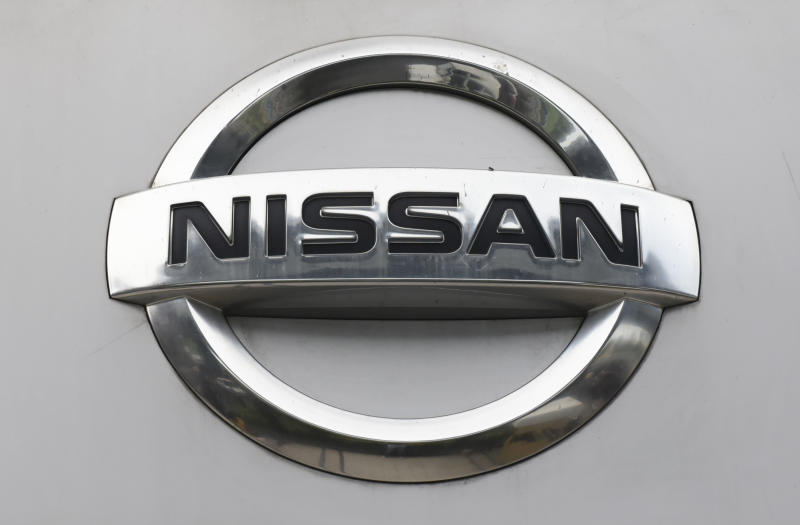Nissan Logo can be seen in Kolkata, India, 24 July, 2019. Japanese car maker Nissan Motor Company Limited plans to cut more than 10,000 jobs to revive its business. The cuts are expected mainly from the factory segment outside Japan according to an International media report. (Photo by Indranil Aditya/NurPhoto via Getty Images)