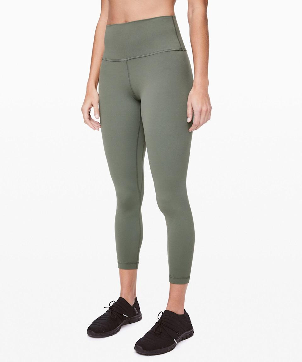 """<p><strong>Lululemon</strong></p><p>lululemon.com</p><p><strong>$98.00</strong></p><p><a href=""""https://go.redirectingat.com?id=74968X1596630&url=https%3A%2F%2Fshop.lululemon.com%2Fp%2Fwomen-pants%2FAlign-Pant-2%2F_%2Fprod2020012&sref=https%3A%2F%2Fwww.countryliving.com%2Flife%2Fg4248%2Ffirst-mothers-day-gifts%2F"""" rel=""""nofollow noopener"""" target=""""_blank"""" data-ylk=""""slk:Shop Now"""" class=""""link rapid-noclick-resp"""">Shop Now</a></p><p>Keeping comfortable is of utmost importance for new moms. These leggings have enough stretch to accommodate changing bodies. </p>"""
