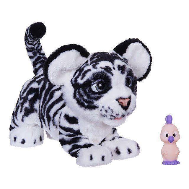 This furry friend, known as<span>the FurReal Roarin' Ivory The Playful Tiger Pet</span>, is one of Toys R Us' choices for toys to pick up this holiday season.