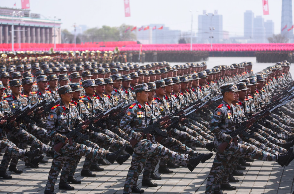 <em>Despite its limitations, North Korea has one of the largest armies in the world (Rex)</em>