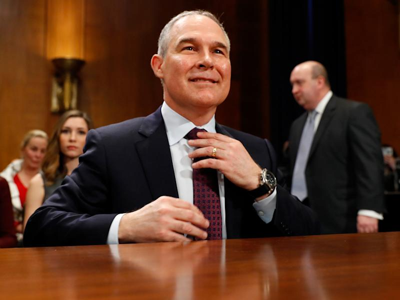 Scott Pruitt may have gone further than he meant in denying accepted science: Getty