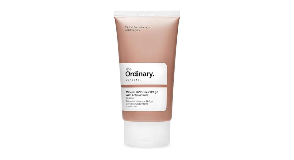 <p>Fans of The Ordinary, rejoice: Everyone's favourite affordable skincare brand has launched two SPF formulas. And they're a total steal at under £10 each. </p>