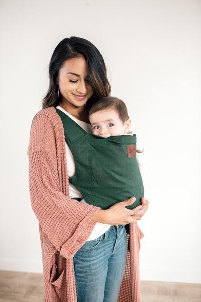"""<p>happybabycarriers.com</p><p><strong>$155.00</strong></p><p><a href=""""https://happybabycarriers.com/products/happy-baby-carrier"""" rel=""""nofollow noopener"""" target=""""_blank"""" data-ylk=""""slk:Shop Now"""" class=""""link rapid-noclick-resp"""">Shop Now</a></p><p>Stylish yet comfortable, this baby carrier is favorited by moms everywhere. It has padded leg openings for baby's comfort, and is lightweight and breathable even in the summer months. Hidden pockets hide a suncover, and the whole piece folds down to fit easily into a diaper bag.</p>"""
