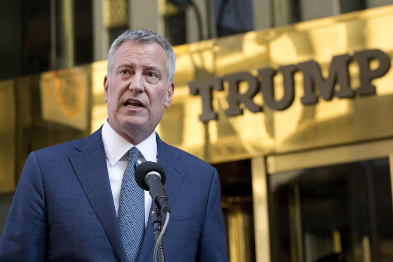 De Blasio-Trump Legal Immunity