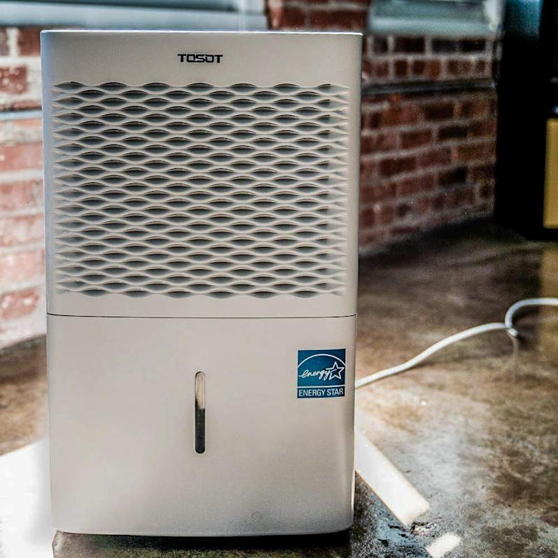 Tosot Energy Star Dehumidifier for rooms up to 1,500 square feet. (Photo: Amazon)