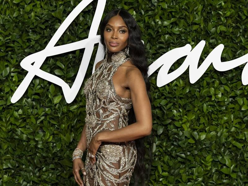 Naomi Campbell 'thrilled' to receive Model of the Year honour