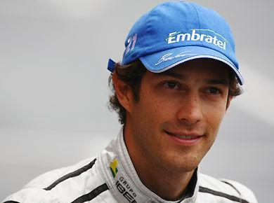 <p>Team: HRT <br> Fresh off competition in the Le Mans Series in '09, Senna joined what has been the field's slowest team in 2010 with HRT.</p>