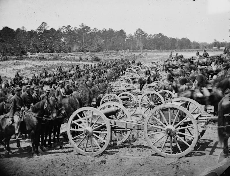 Richmond, Virginia. Major (JM) Robertson's Battery of Horse Artillery. (Photo: James F. Gibson/Buyenlarge/Getty Images)