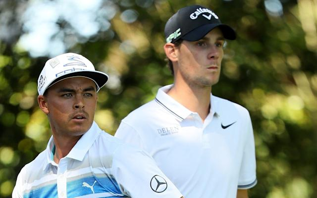 <span>Rickie Fowler and Thomas Pieters are the penultimate pairing on day 3 at Augusta</span> <span>Credit: Andrew Redington/Getty Images </span>