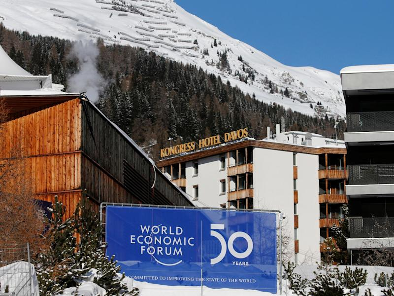 World leaders will gather in Davos for the World Economic Forum from Tuesday 21 January: Reuters