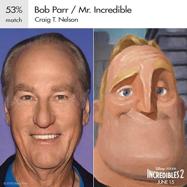 Craig T. Nelson as Mr. Incredible in Pixar's <em>Incredibles 2</em>. (Image: Disney)