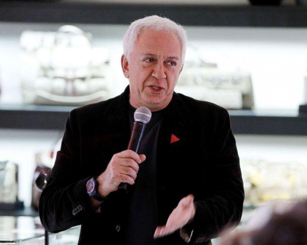 PHOTO: Paul Marciano speaks at GUESS Flagship Boutique on Nov. 10, 2011, in Beverly Hills, Calif. (Rebecca Sapp/WireImage via Getty Images FILE)