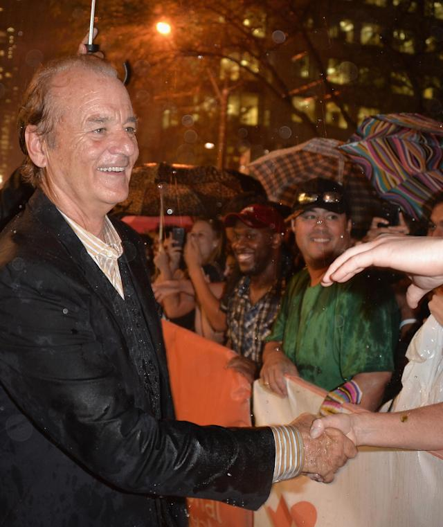 No wonder everyone loves Bill Murray. (Photo: George Pimentel/WireImage)