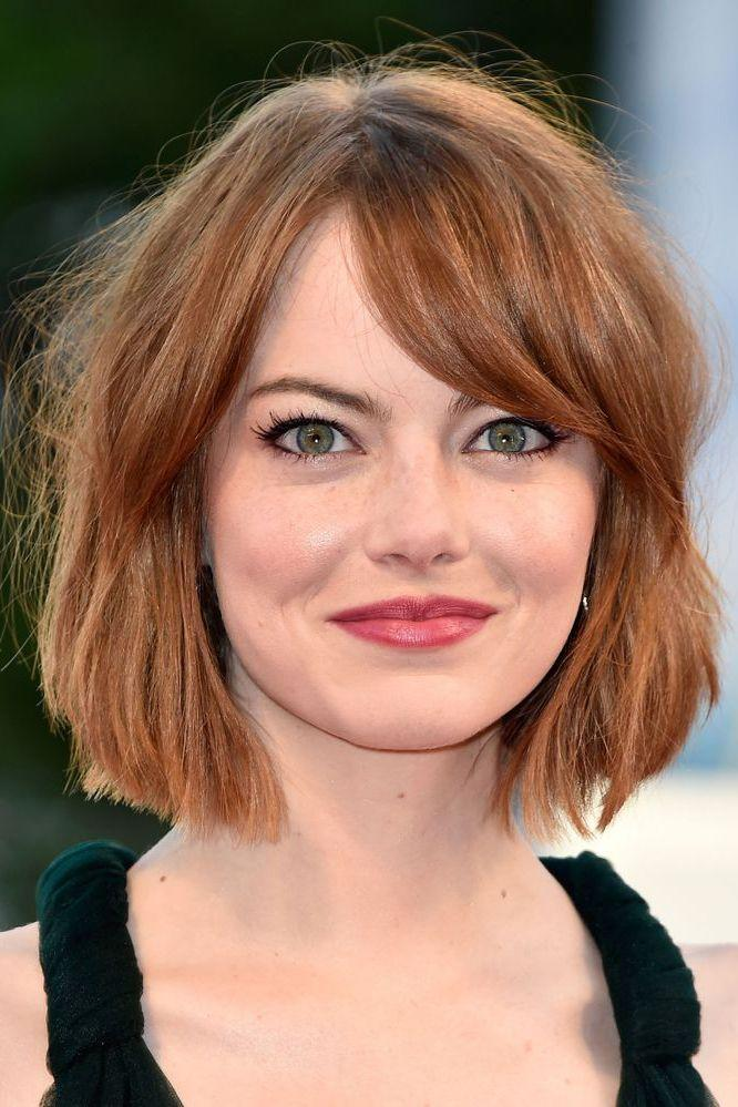 <p>The red carpet tousled bob of our dreams, this is the way to work a fringe with a bob people.</p>