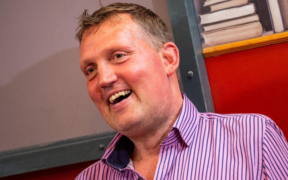 Burger says Doddie Weir 'is a hero for fighting for so many others to find a cure for MND' - STUART NICOL